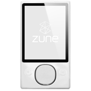 Zune player